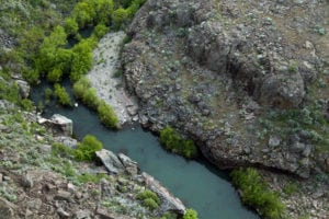 Owyhee River as seen from above